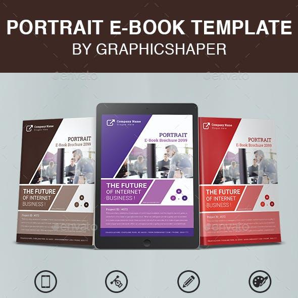 Portrait E-Book Template