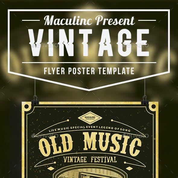 Vintage Flyer/Poster Vol.7