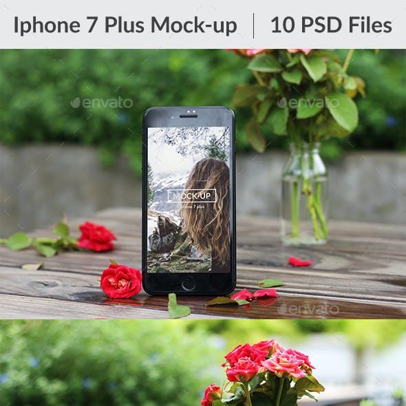 10 Phone 7 Plus Mockup