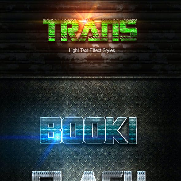 Trans Text Effect V53