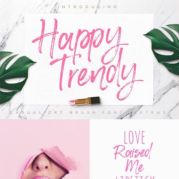 Happy Trendy Font