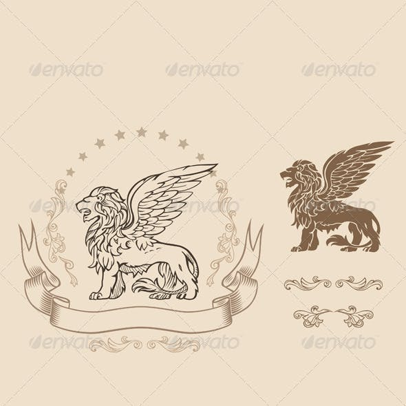 Winged Lion Insignia