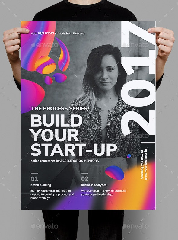 Build Your Start-up Business Poster - Corporate Flyers