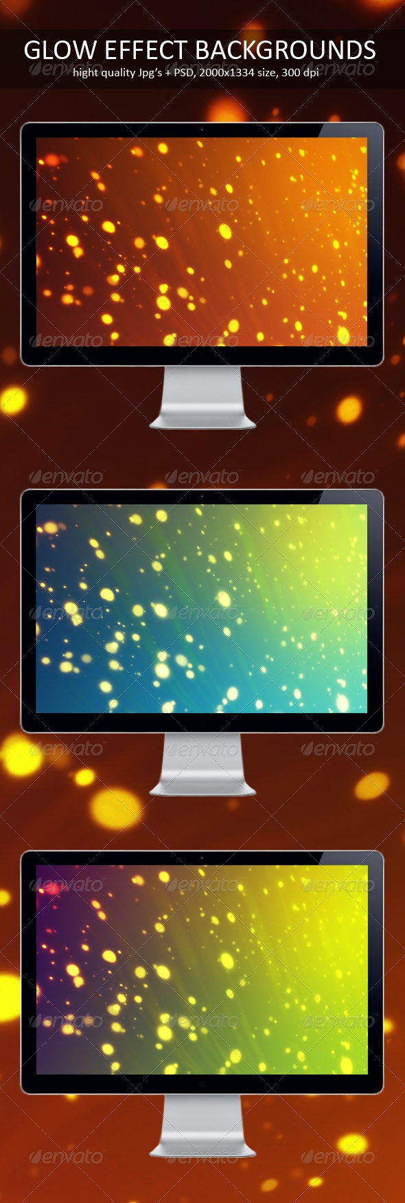 Glow Effect Backgrounds - Backgrounds Graphics