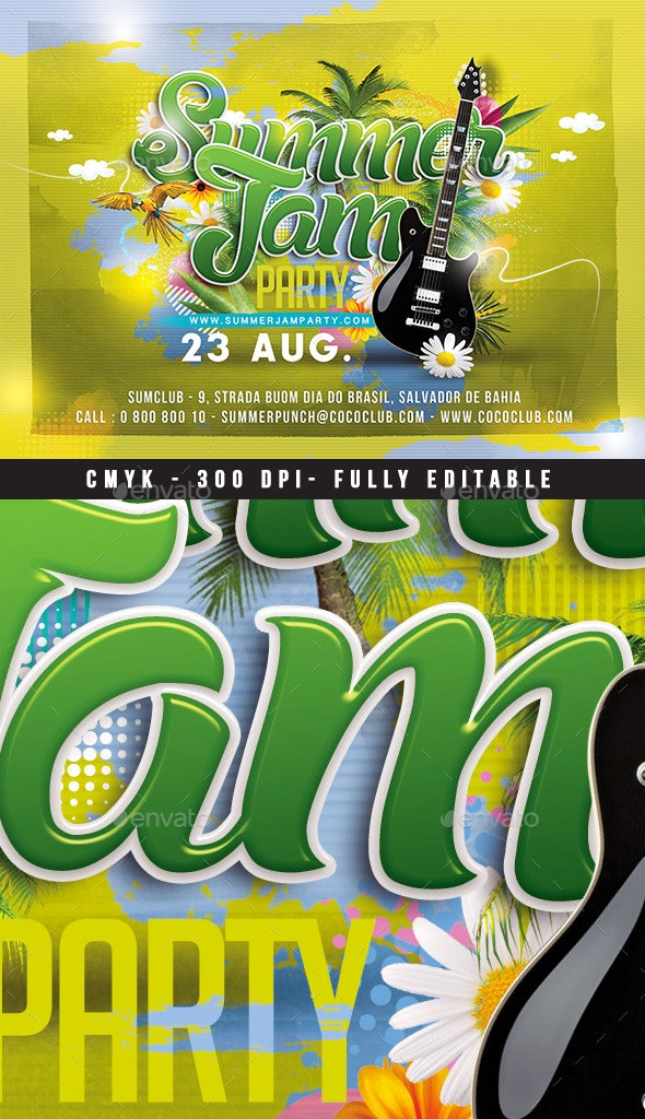 Summer Jam Party - Clubs & Parties Events