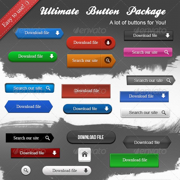 Ultimate Button Package
