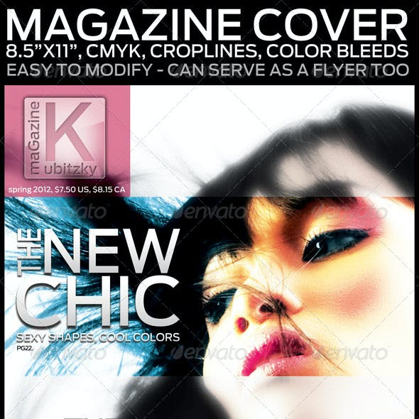 """Magazine Cover, 8.5""""x11"""", Can Serve As A Flyer Too"""
