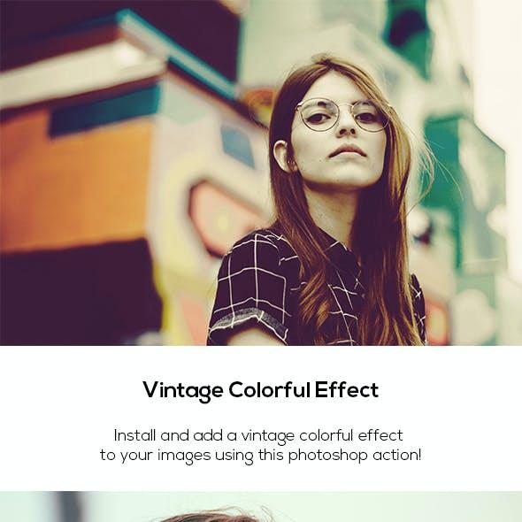 Vintage Colorful Effect