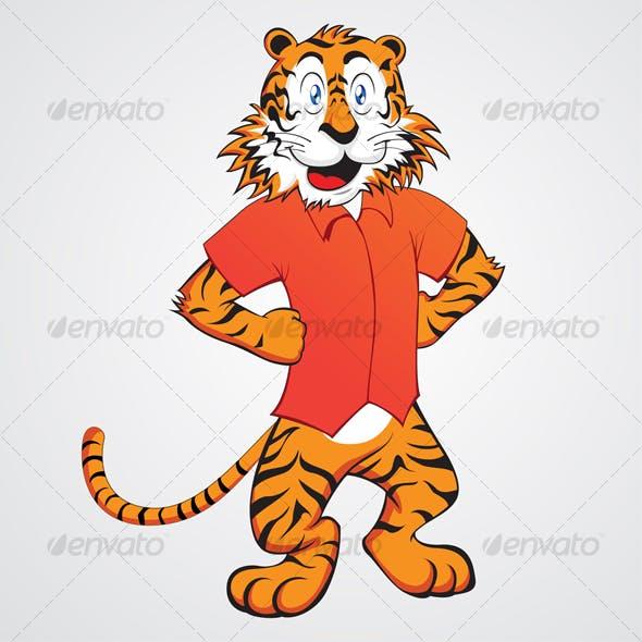 Funny Tiger