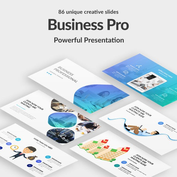 Business Professional Google Slide Template