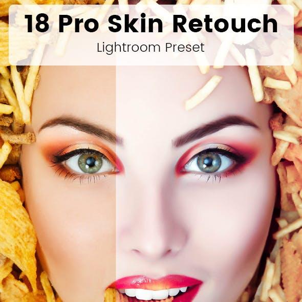 18 Pro Skin Retouch Presets