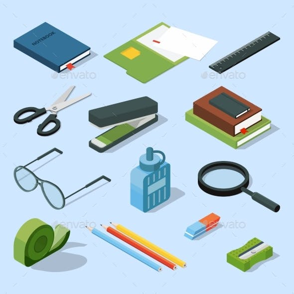 Books, Paper Documents in Folders, and Other Base