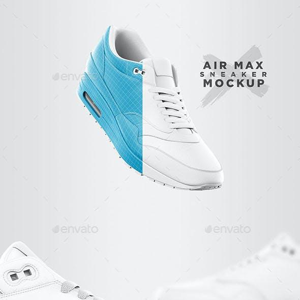 Air Max - Sneaker Mockup