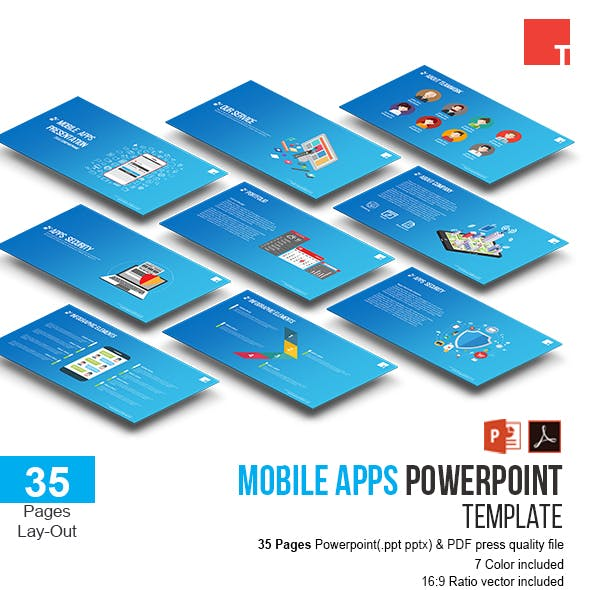Mobile Apps Powerpoint Template