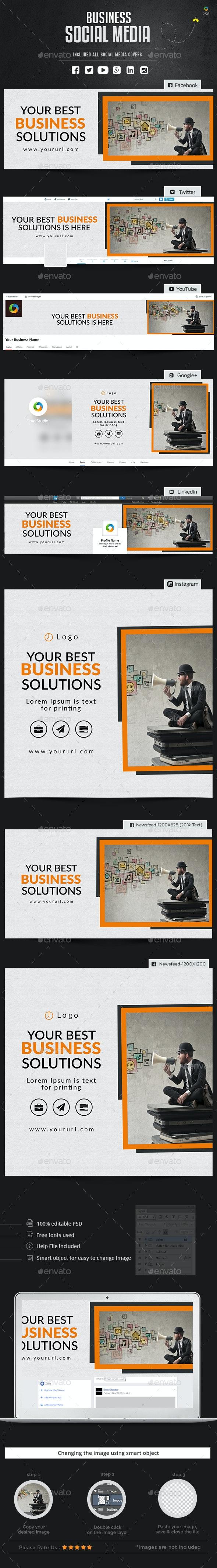 Business Social Media Package - Miscellaneous Social Media