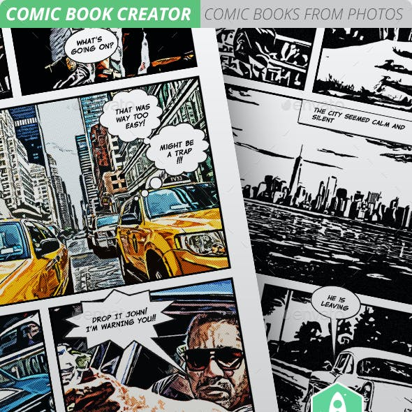 Comic Book Creator