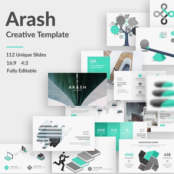 Arash Creative Google Slide Template