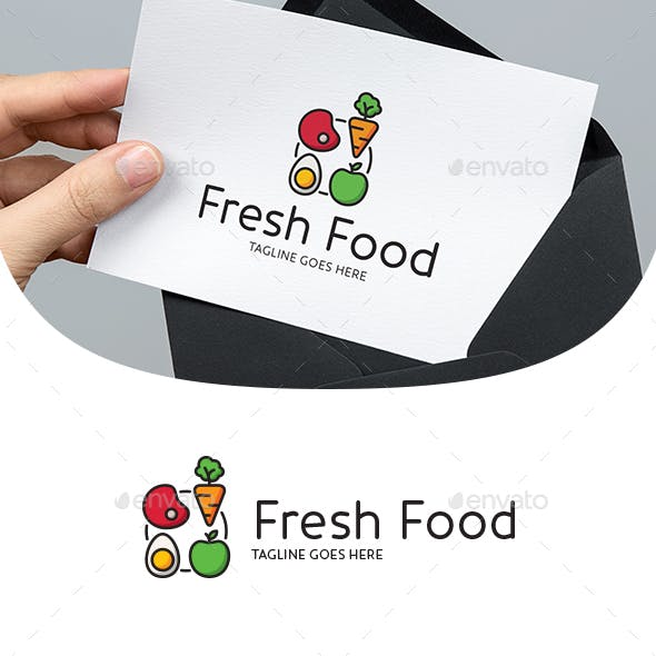 Fresh Eco Organic Food Logo