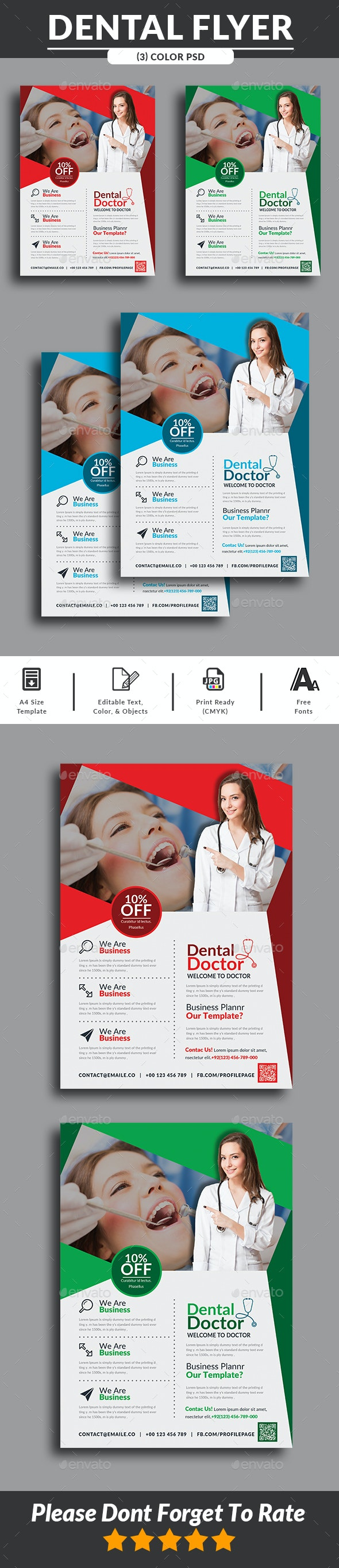 Dental Care Flyer - Corporate Flyers
