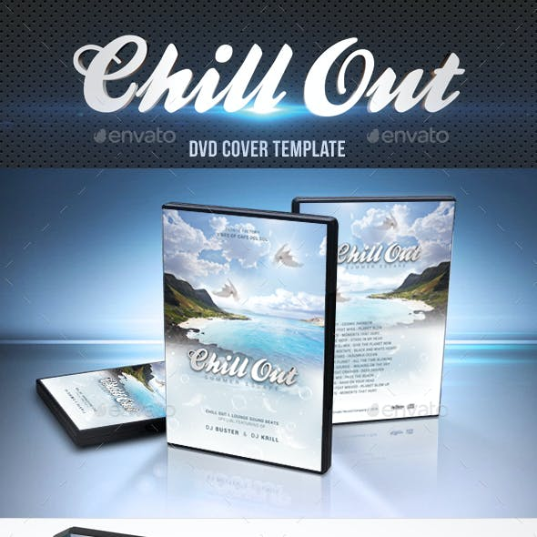 Chill Out DVD Cover Template