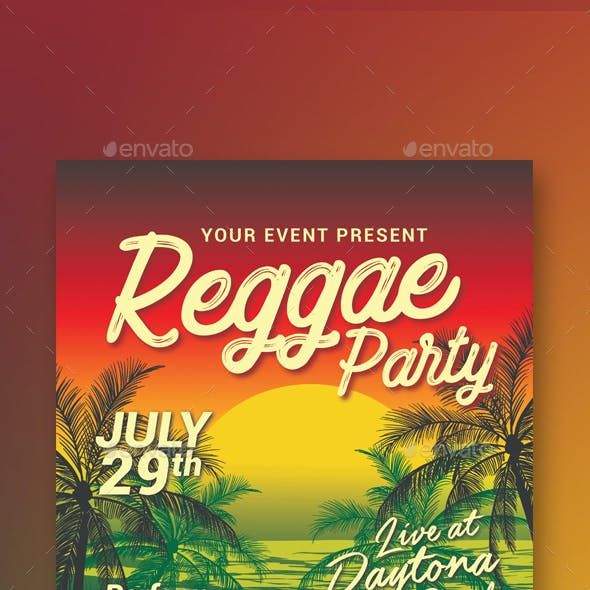 Reggae Music Beach Party
