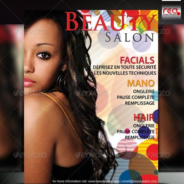 Beauty Salon Poster/Flyer Template
