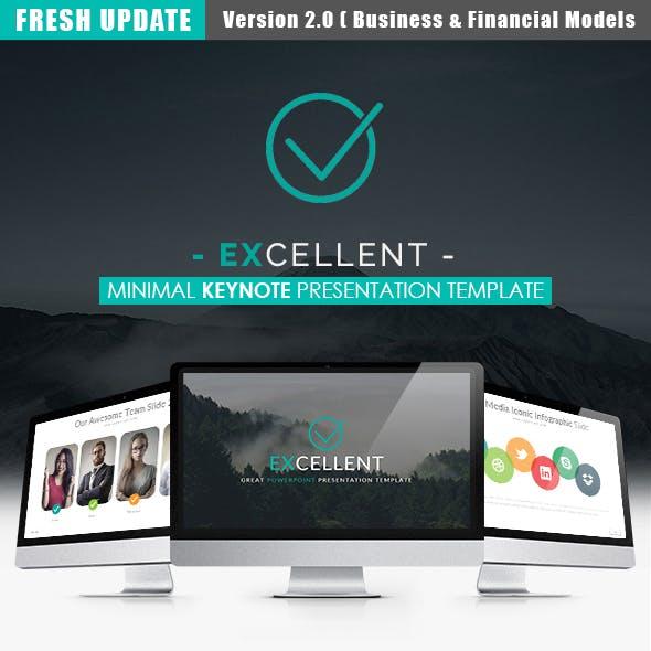 EXCELLENT - Keynote Presentation Template