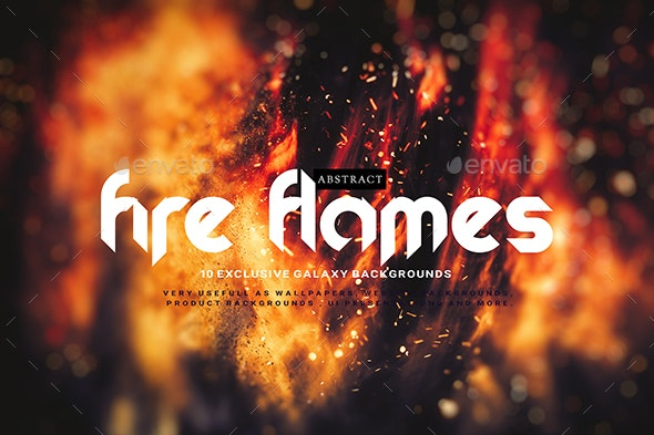 Abstract Fire Flames Backgrounds - Abstract Backgrounds