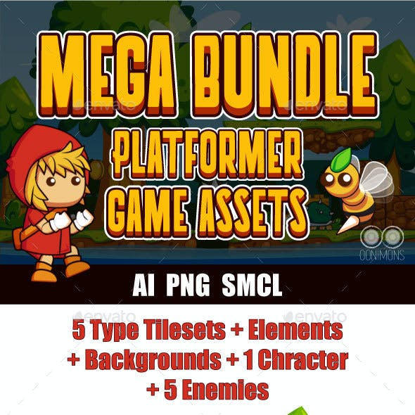 Platformer Game Assets Pack #1