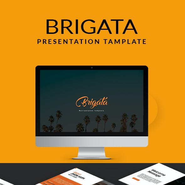 Brigata Multipurpose Powerpoint Template