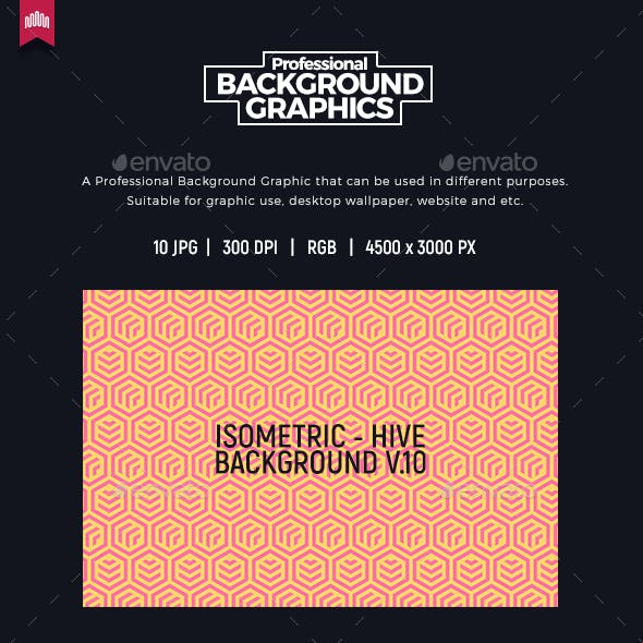 Hive - Isometric Background V.10