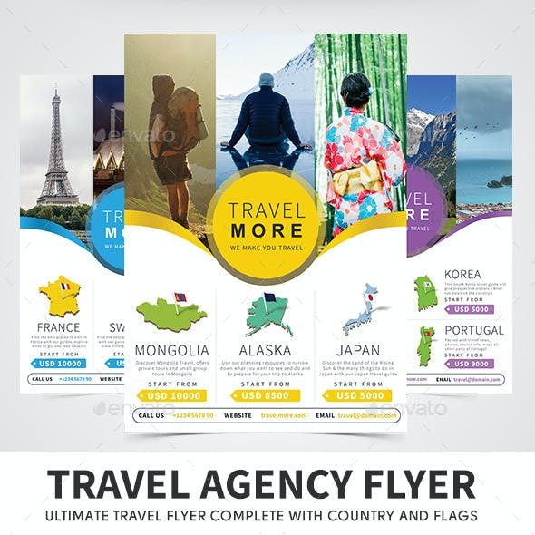 Travel Agency Flyer Templates