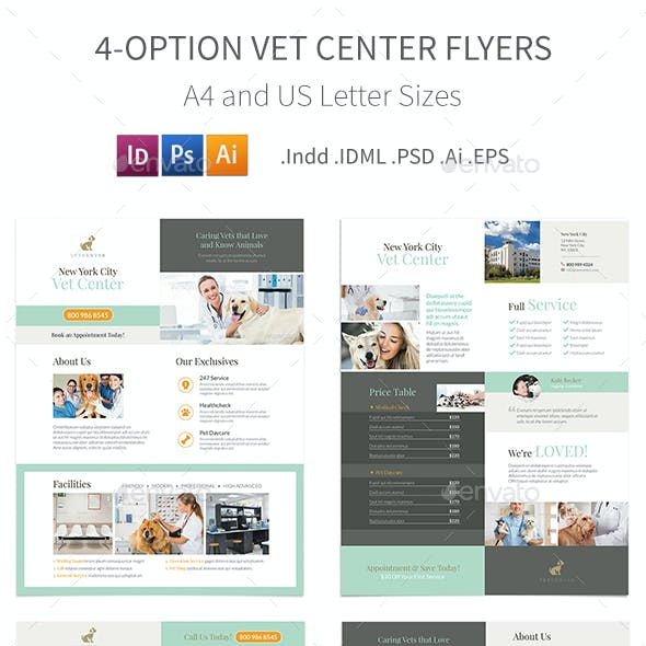Vet Center Flyers – 4 Options