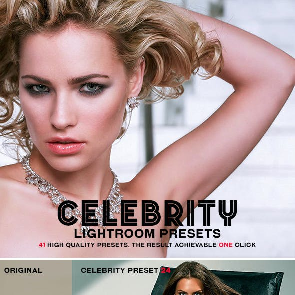 Celebrity Lightroom Presets