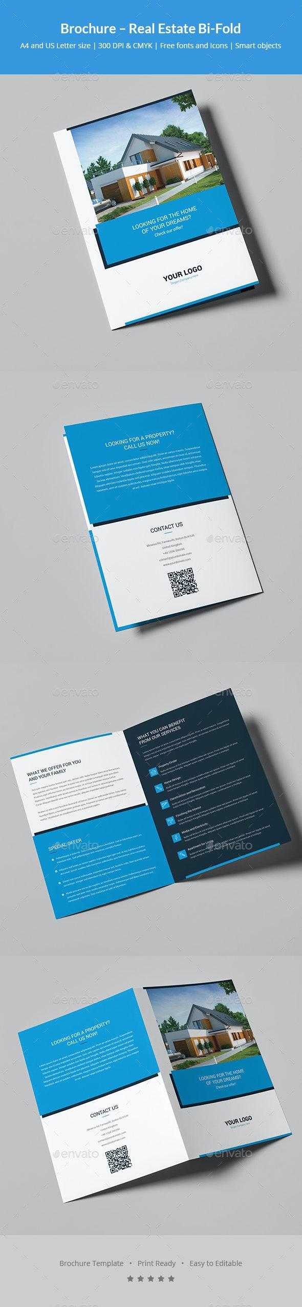 Brochure – Real Estate Bi-Fold - Corporate Brochures