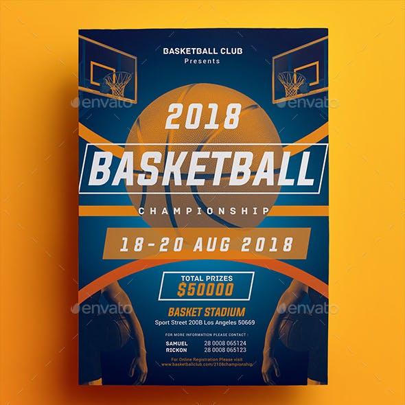 Basketball Championship Flyer