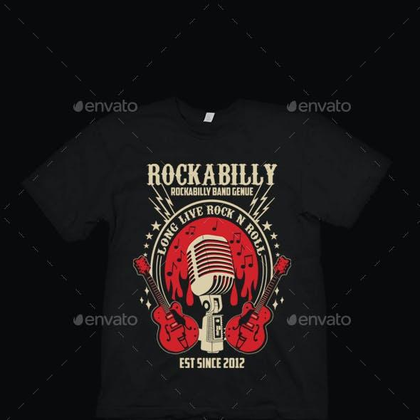 Rockabilly Band T Shirt