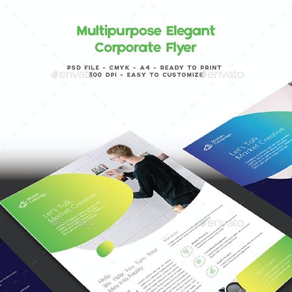 Multipurpose Elegant Corporate Flyer