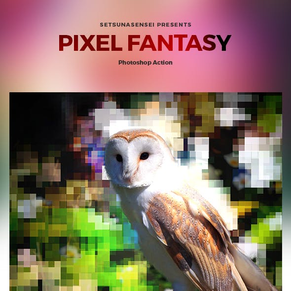 Pixel Fantasy Photoshop Action