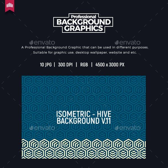 Isometric Background V.11