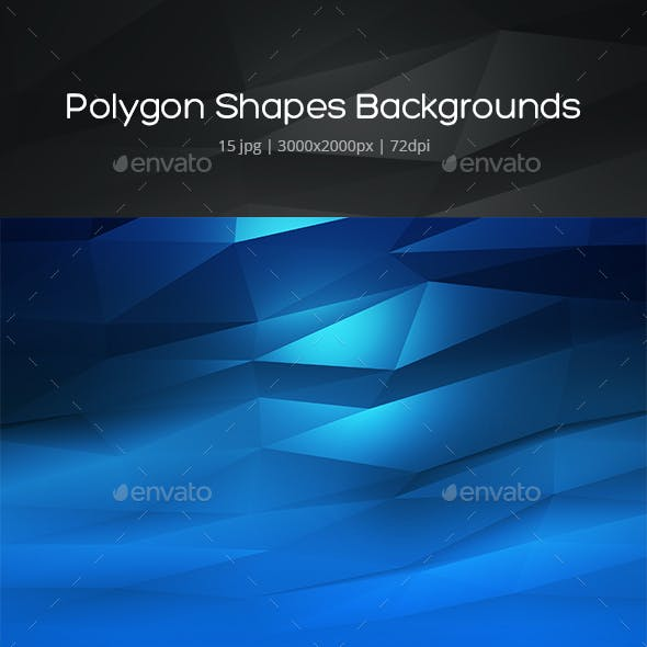 Polygon Shapes Backgrounds
