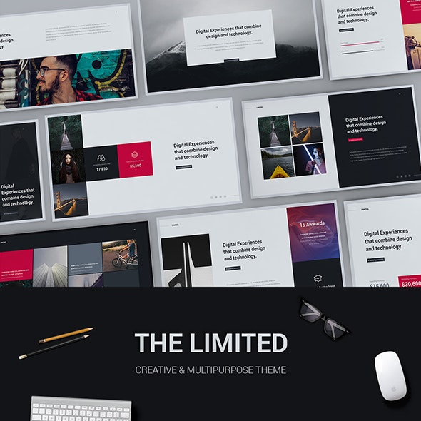 Limited Creative Modern Powerpoint Template By