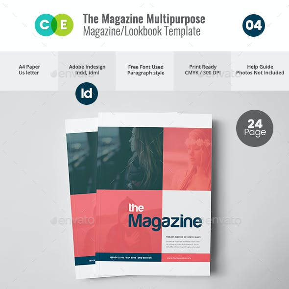 THE MAGAZINE   Multipurpose Magazine Lookbook V04