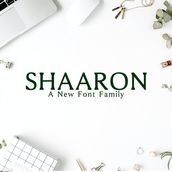 Shaaron A New Serif Font Family