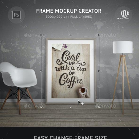 Frame Mockup Creator