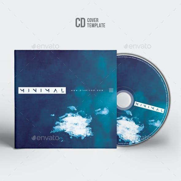 Minimal - CD Cover Artwork Template