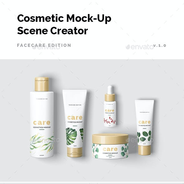 Cosmetic Mock-Up Scene Creator