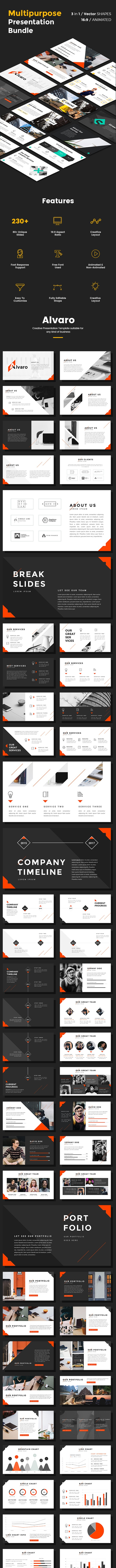 Multipurpose PowerPoint Bundle Vol 2 - Business PowerPoint Templates