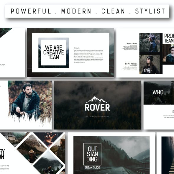 Rover Multipurpose Keynote Template