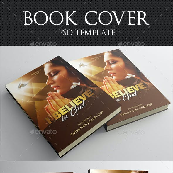Believe In God Book Cover Template